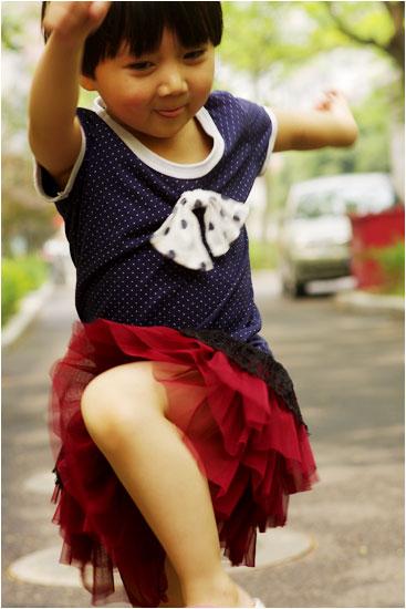 穿裙子的儿童节
